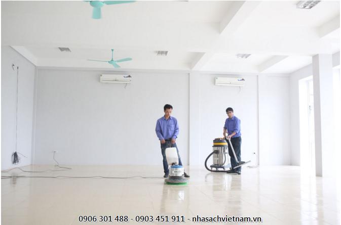 Nhasachvietnam.vn địa chỉ cung cấp dịch vụ vệ sinh công trình sau xây dựng đáng tin cậy cho các doanh nghiệp xây dựng tại Việt Nam